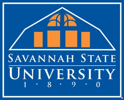 Savannah State University Logo blue