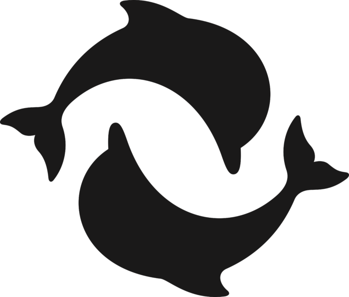 Thames & Hudson Logo dolphins