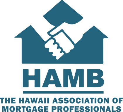 The Hawaii Association of Mortgage Professionals Logo