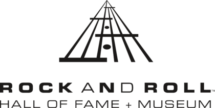 The Rock and Roll Hall of Fame and Museum Logo black
