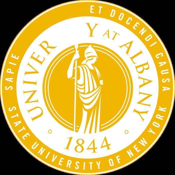 University at Albany Logo yellow