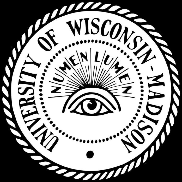 University of Wisconsin–Madison Logo black