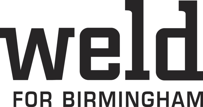 Weld Logo black text