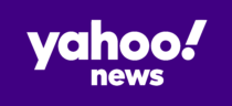 Yahoo! News Logo white text