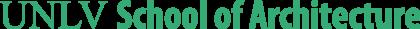 UNLV School of Architecture Logo