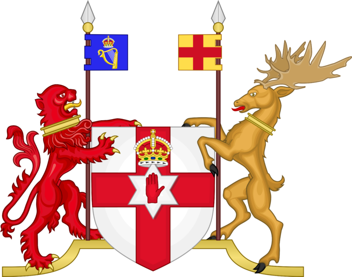 Coat of Arms of Northern Ireland (1953–1972)