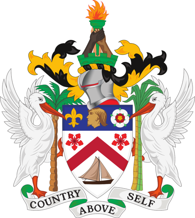 Coat of Arms of Saint Kitts and Nevis