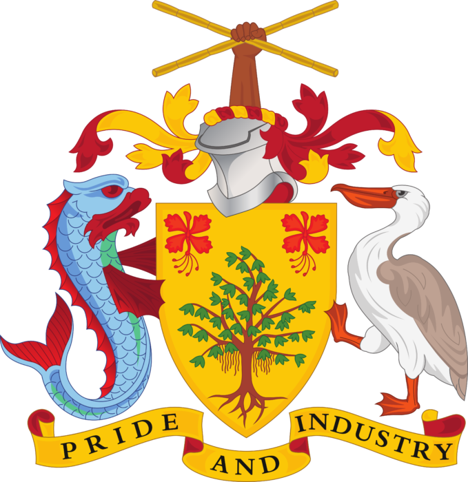 Coat of arms of Barbados