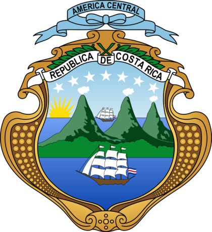 Coat of arms of Costa Rica