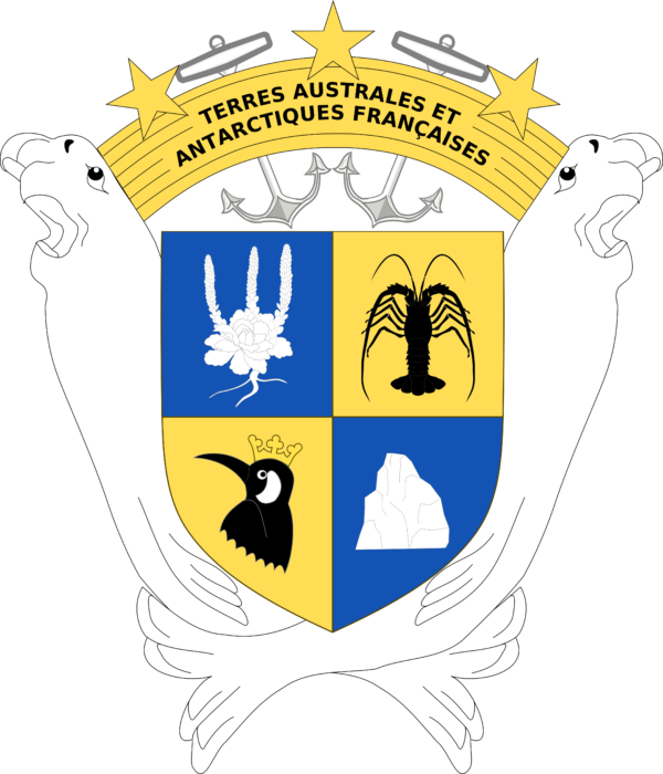 Coat of arms of French Southern and Antarctic Lands