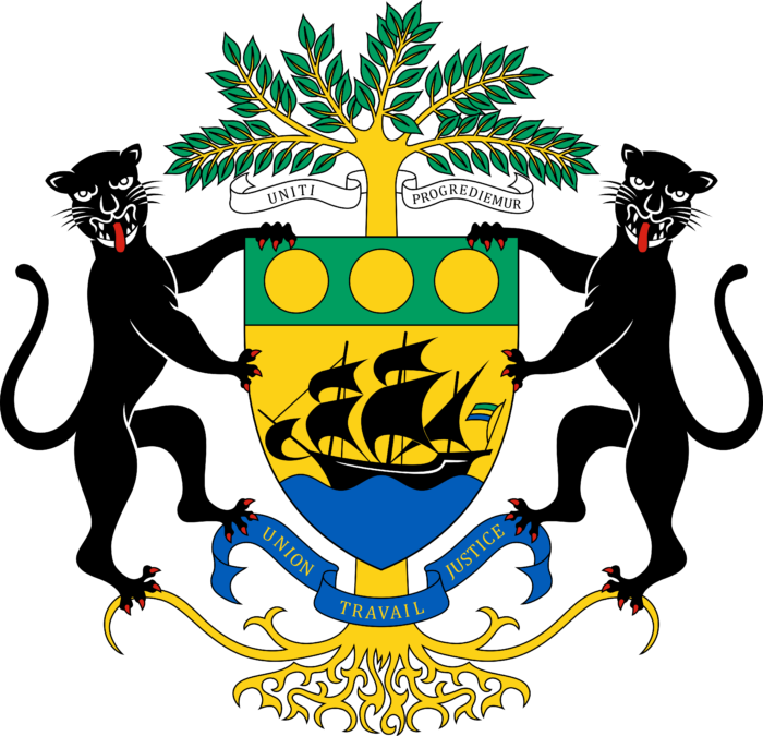 Coat of arms of Gabon