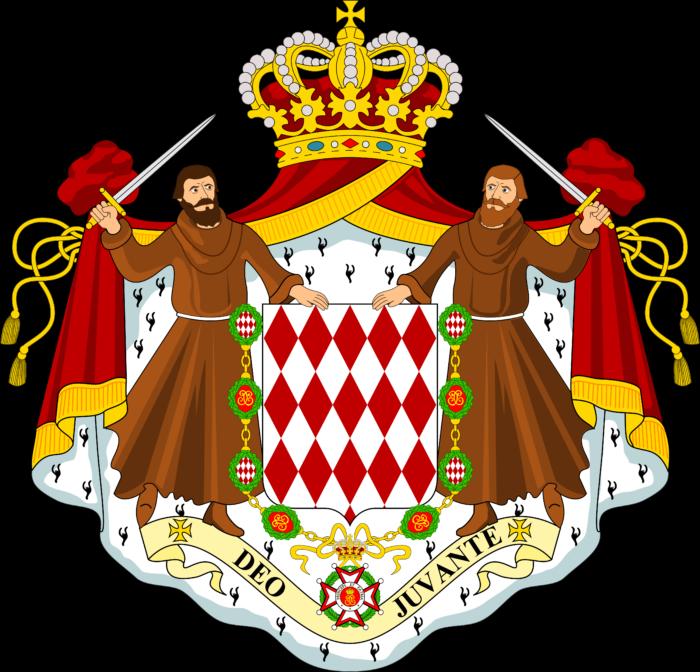 Coat of arms of Monaco