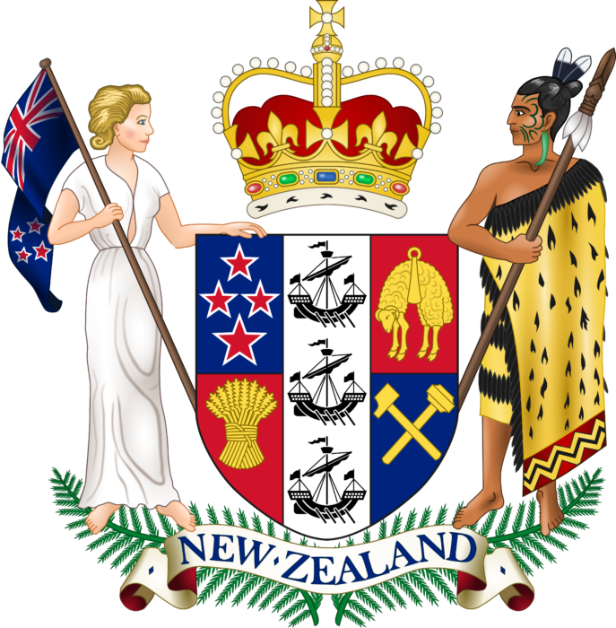 Coat of arms of New Zealand