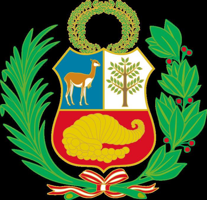 Coat of arms of Peru version