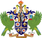 Coat of arms of Saint Lucia