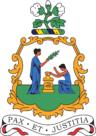 Coat of arms of Saint Vincent and the Grenadines