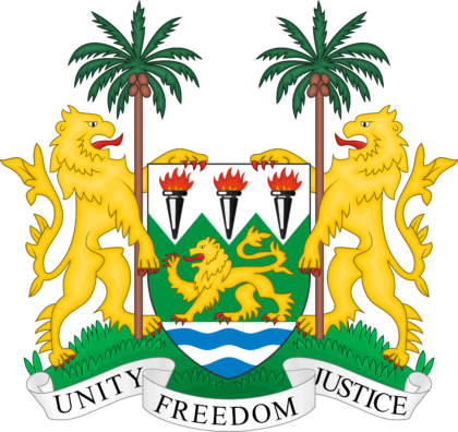 Coat of arms of Sierra Leone