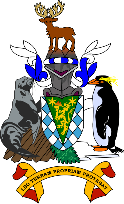 Coat of arms of South Georgia and the South Sandwich Islands