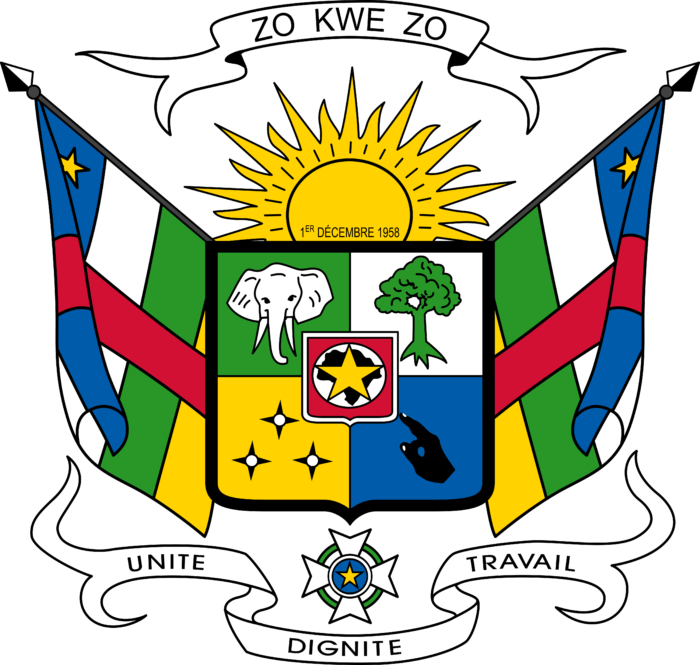 Coat of arms of the Central African Republic