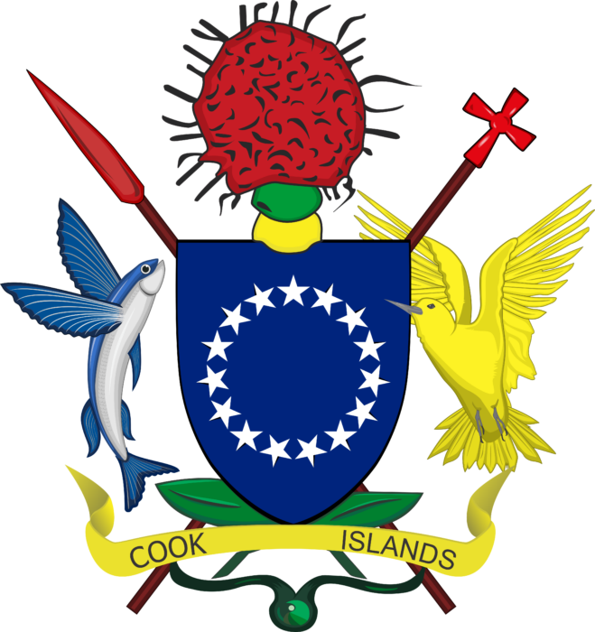 Coat of arms of the Cook Islands