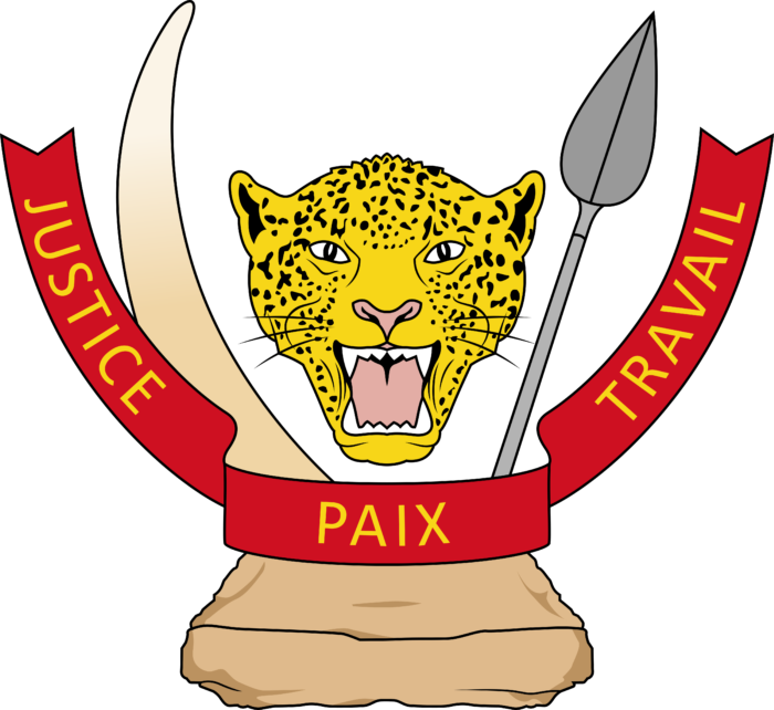 Coat of arms of the Democratic Republic of the Congo