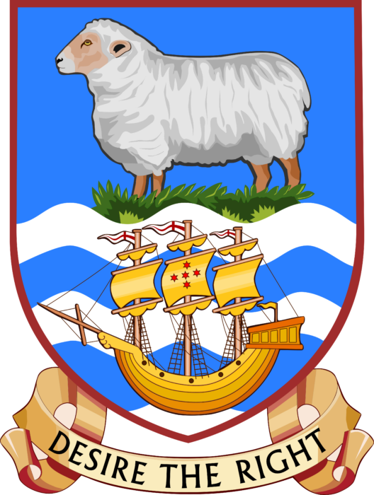 Coat of arms of the Falkland Islands
