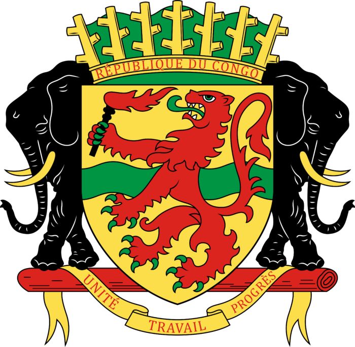 Coat of arms of the Republic of the Congo
