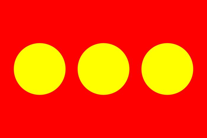 Flag of Freetown Christiania