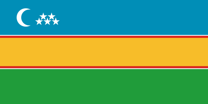 Flag of Karakalpakstan