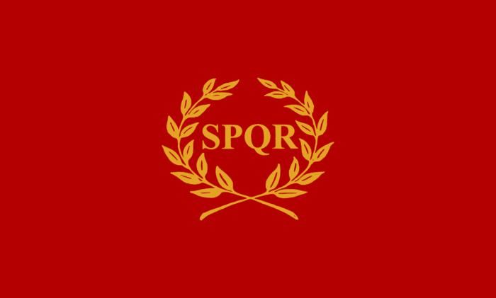 Flag of Nova Roma