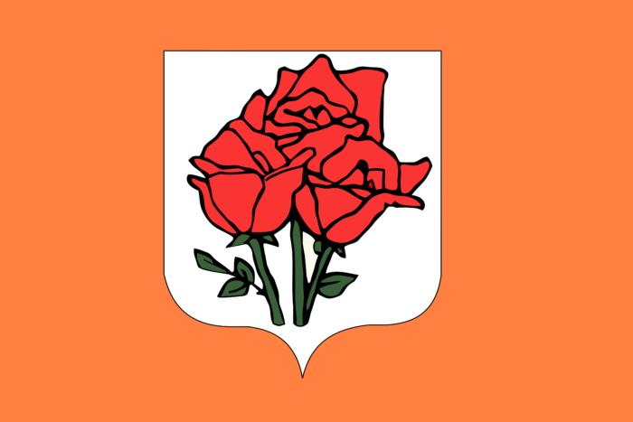 Flag of Republic of Rose Island