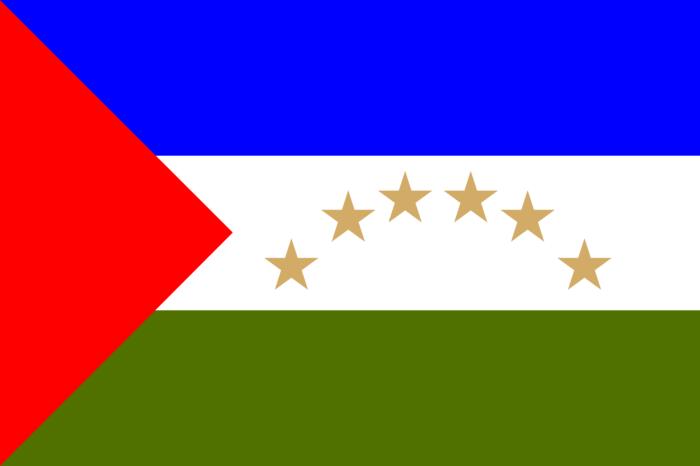 Flag of South Caribbean Coast Autonomous Region