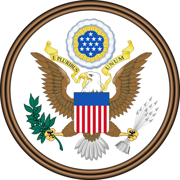 Great Seal of the United States (obverse)