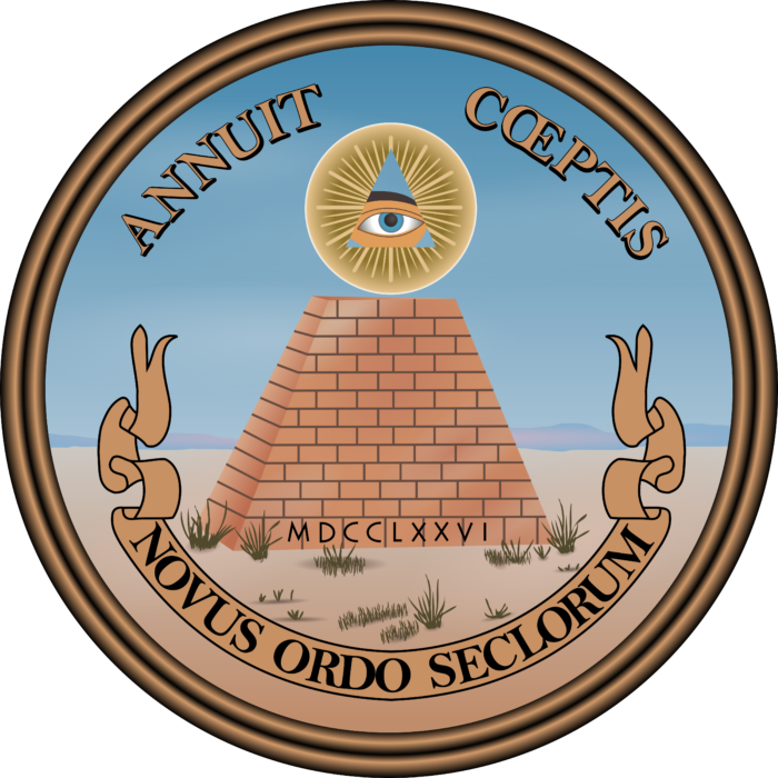 Great Seal of the United States (reverse)