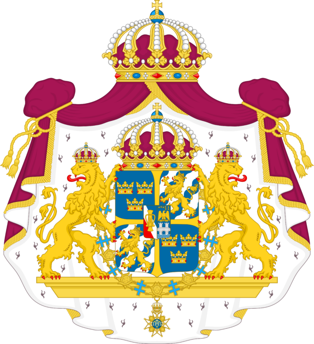 Great coat of arms of Sweden