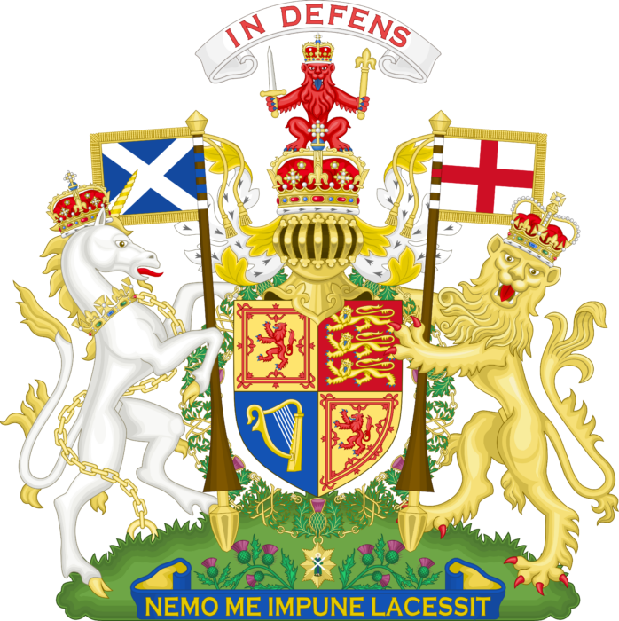 Royal Coat of Arms of the United Kingdom version