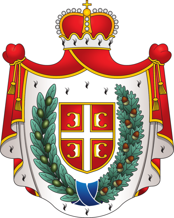 Traditional coat of arms of Vojvodina