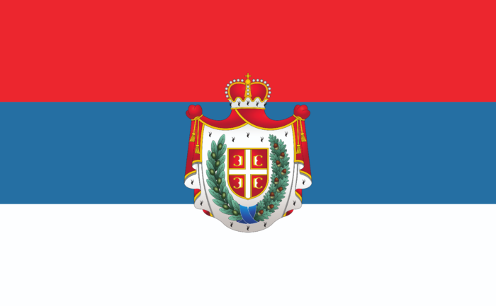 Traditional flag of Vojvodina