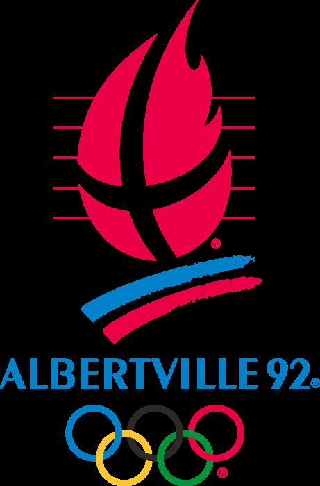 Albertville 1992 Winter Olympics Logo