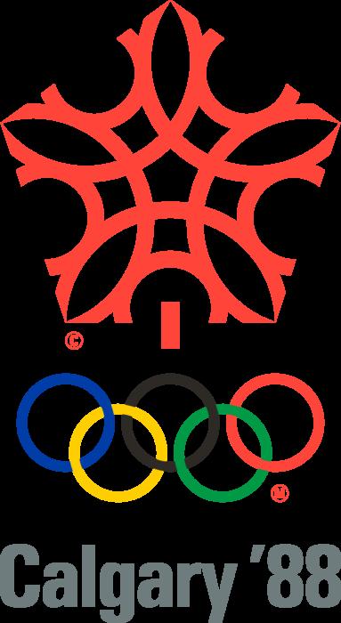 Calgary 1988 Winter Olympics Logo