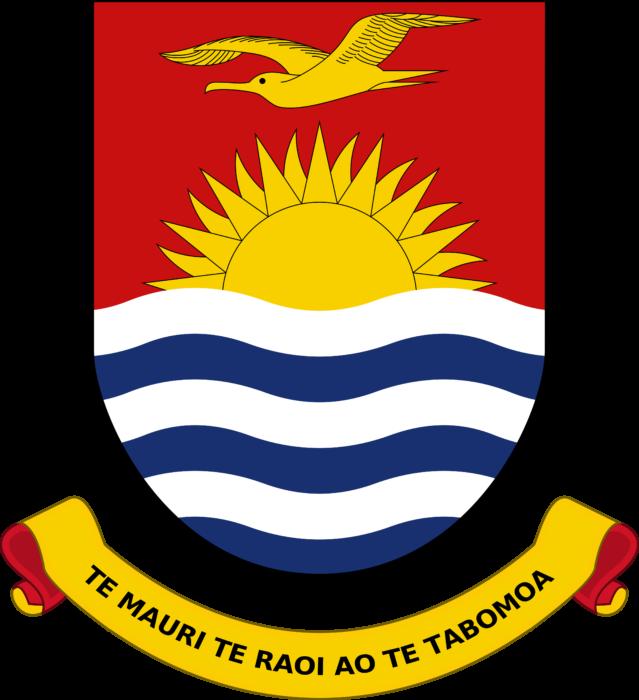Coat of arms of Kiribati