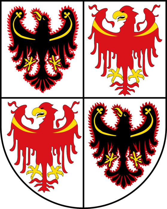 Coat of arms of Trentino South Tyrol
