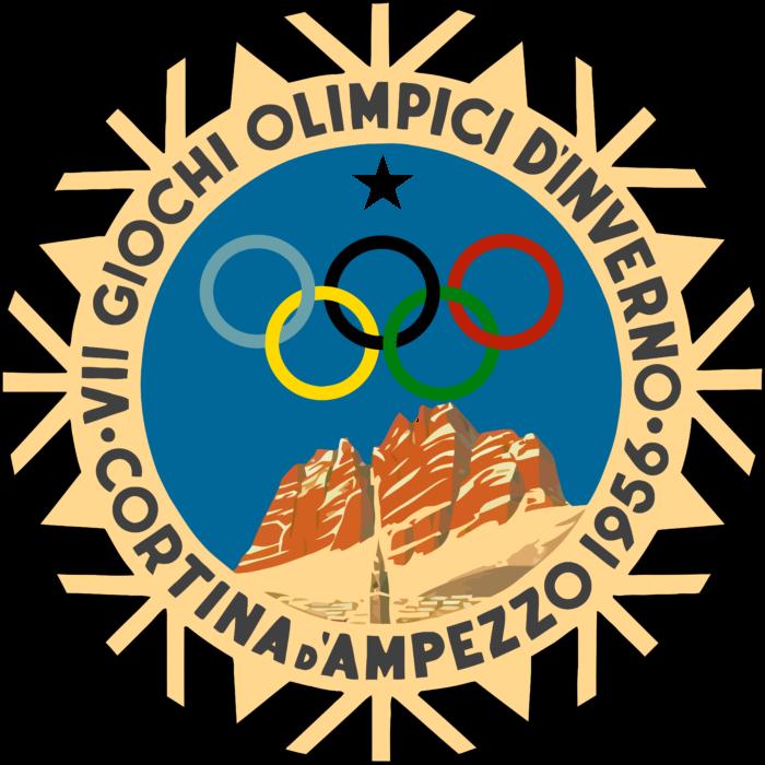Cortina d'Ampezzo 1956 Winter Olympics Logo
