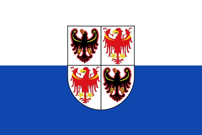 Flag of Trentino South Tyrol