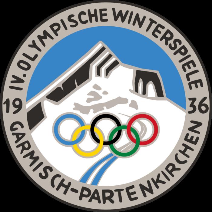 Garmisch Partenkirchen 1936 Winter Olympics Logo