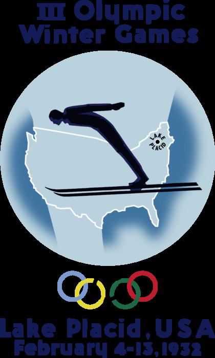 Lake Placid 1932 Winter Olympics Logo